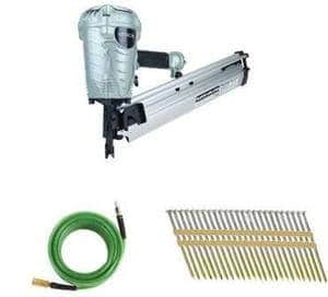 Hitachi NR90AES1 Plastic Collated Framing Nailer