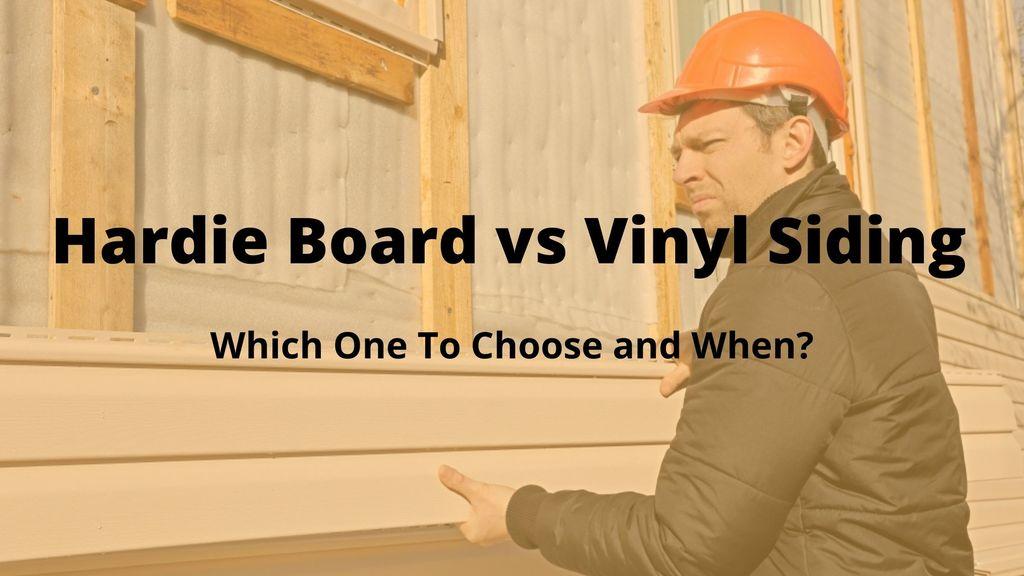 Hardie Board vs Vinyl Siding