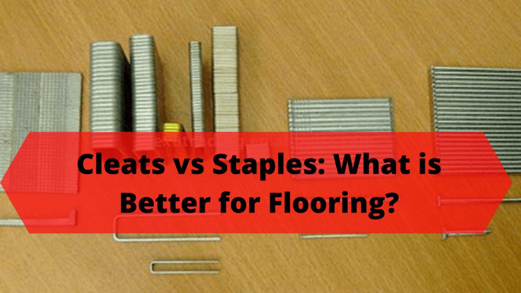 Cleats vs Staples